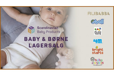 Scandinavian Baby Products Lagersalg