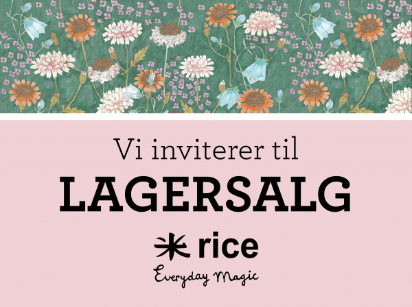 rice lagersalg invitition