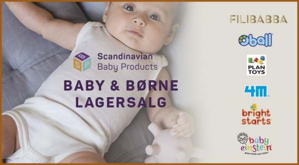 lagersalg hos scandinavian baby products